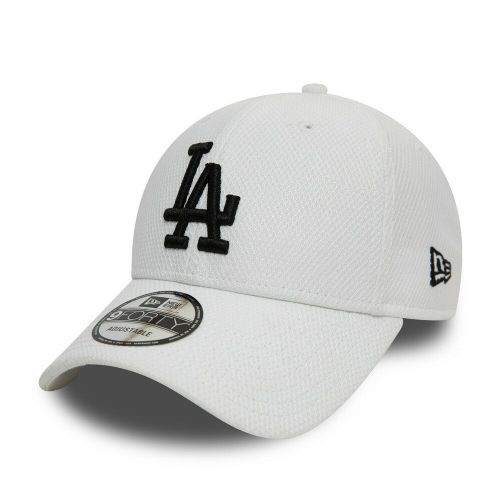 outlet store 2bfab bc9a0 NEW ERA 9FORTY BASEBALL CAP.LA DODGERS LOS ANGELES DIAMOND ERA WHITE HAT 9S1  11 .